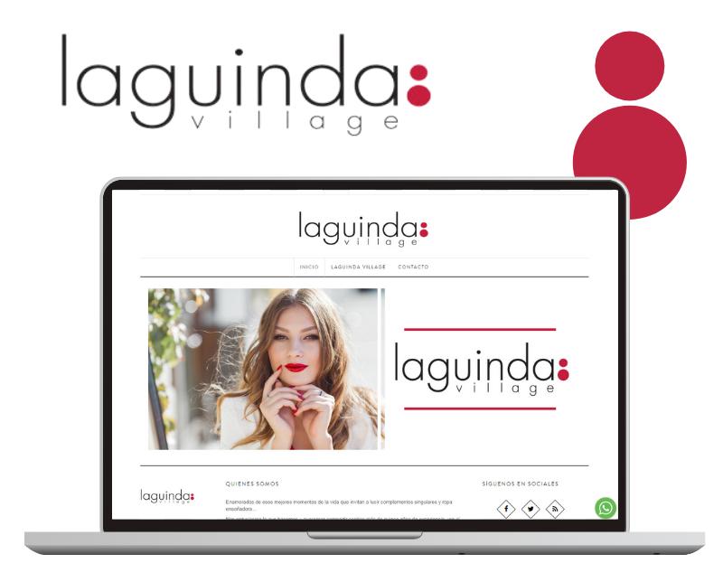 Laguinda Village Tienda online Web Corporativa