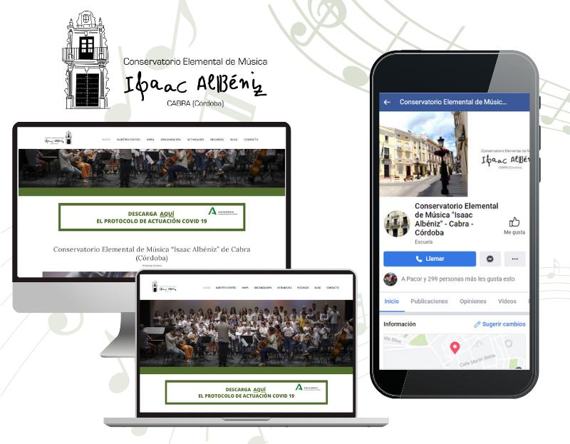 conservatorio cabra diseño web marketing digital